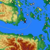 Nearby Forecast Locations - Victoria CS - Map