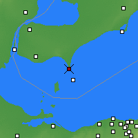 Nearby Forecast Locations - Point Pelee National Park - Map