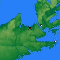 Nearby Forecast Locations - Tracadie - Map