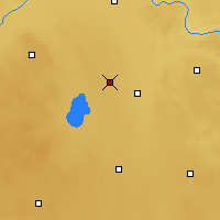 Nearby Forecast Locations - Mundare - Map