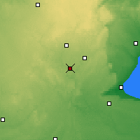 Nearby Forecast Locations - Waterloo Well - Map