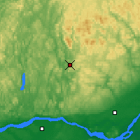 Nearby Forecast Locations - St Jovite - Map