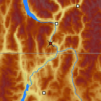 Nearby Forecast Locations - Warfield - Map
