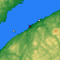 Nearby Forecast Locations - Pointe-au-Père - Map
