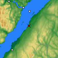 Nearby Forecast Locations - Rivière-du-Loup - Map