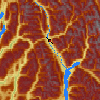 Nearby Forecast Locations - Revelstoke - Map