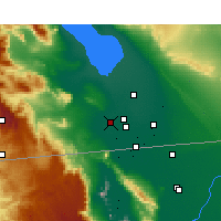 Nearby Forecast Locations - El Centro - Map