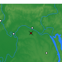 Nearby Forecast Locations - Paducah - Map