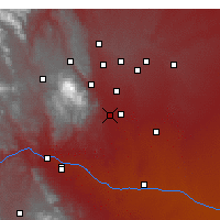 Nearby Forecast Locations - Fort Carson - Map