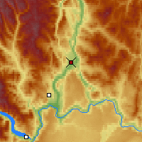 Nearby Forecast Locations - Omak - Map