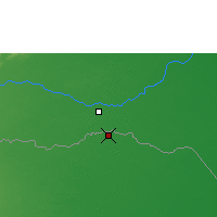 Nearby Forecast Locations - Arauca - Map
