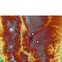 Nearby Forecast Locations - Medellín - Map