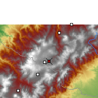 Nearby Forecast Locations - Ipiales - Map