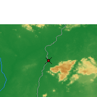 Nearby Forecast Locations - Lethem - Map