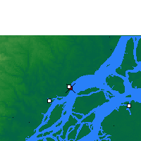 Nearby Forecast Locations - Macapá - Map