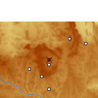 Nearby Forecast Locations - Brasília - Map