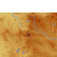 Nearby Forecast Locations - Anápolis - Map