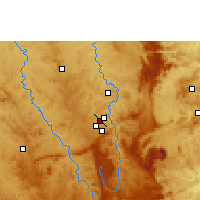 Nearby Forecast Locations - Belo Horizonte Airport - Map