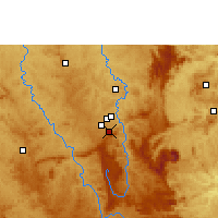 Nearby Forecast Locations - Belo Horizonte - Map