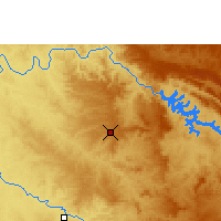 Nearby Forecast Locations - Franca - Map