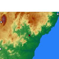 Nearby Forecast Locations - Cachoeiro de Itapemirim - Map