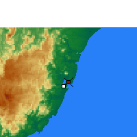 Nearby Forecast Locations - Vitória - Map