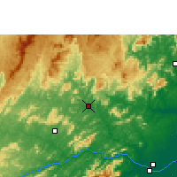 Nearby Forecast Locations - Itaperuna - Map