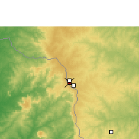 Nearby Forecast Locations - Ponta Porã - Map