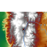 Nearby Forecast Locations - Riobamba - Map