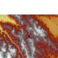 Nearby Forecast Locations - Chachapoyas - Map
