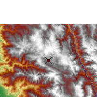 Nearby Forecast Locations - Cajamarca - Map