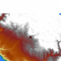 Nearby Forecast Locations - Arequipa - Map