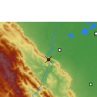 Nearby Forecast Locations - Rurrenabaque - Map