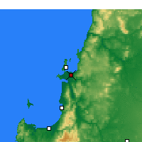 Nearby Forecast Locations - Concepción - Map