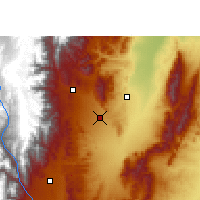 Nearby Forecast Locations - San Salvador de Jujuy - Map