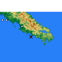Nearby Forecast Locations - Nouméa - Map