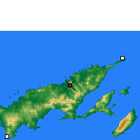 Nearby Forecast Locations - Labasa - Map