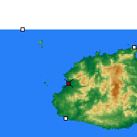 Nearby Forecast Locations - Nadi - Map