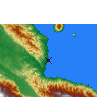 Nearby Forecast Locations - Madang - Map