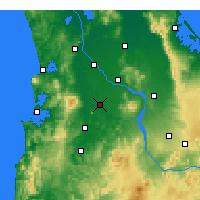 Nearby Forecast Locations - Te Awamutu - Map