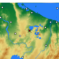 Nearby Forecast Locations - Rotorua - Map
