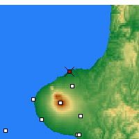 Nearby Forecast Locations - New Plymouth - Map