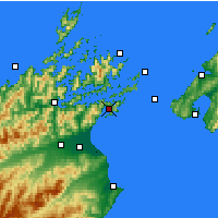 Nearby Forecast Locations - Picton - Map