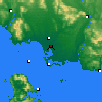 Nearby Forecast Locations - Invercargill - Map