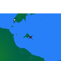 Nearby Forecast Locations - Sweers Island - Map