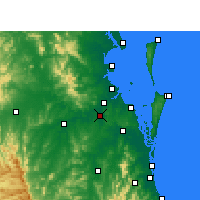 Nearby Forecast Locations - Archerfield - Map
