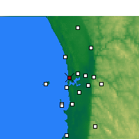 Nearby Forecast Locations - Swanbourne - Map