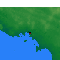 Nearby Forecast Locations - Ceduna - Map