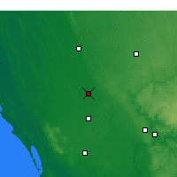 Nearby Forecast Locations - Coonawarra - Map