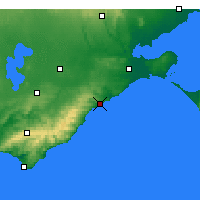 Nearby Forecast Locations - Aireys Inlet - Map